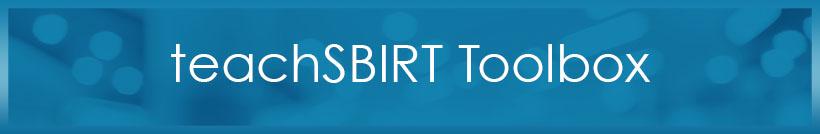 Teach SBIRT Toolbox